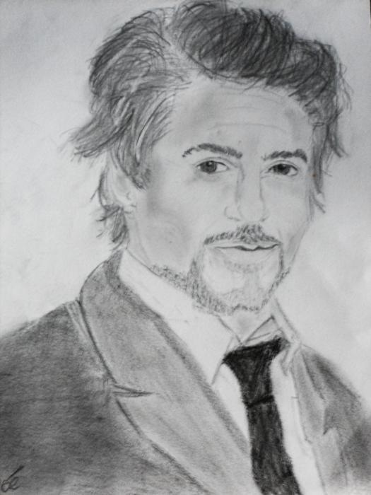 Robert Downey Jr by fafouette